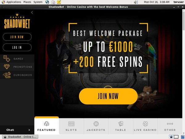 Shadowbet Best Free Bonus