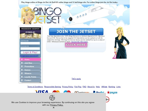 Bingo Jetset Play For Free
