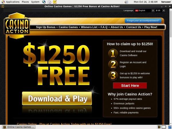 Casino Action Freerolls