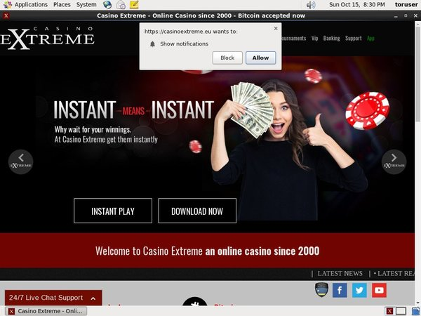 Casino Extreme Gift Card