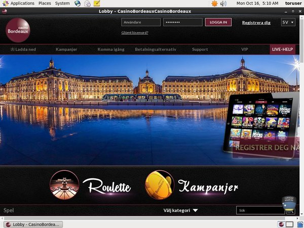 Register For Casino Bordeaux