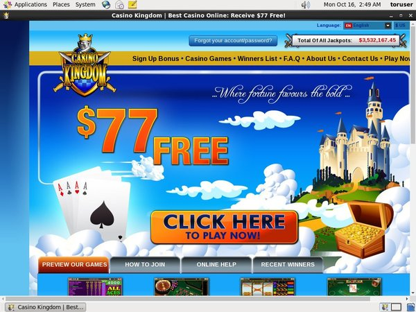 Register Casinokingdom