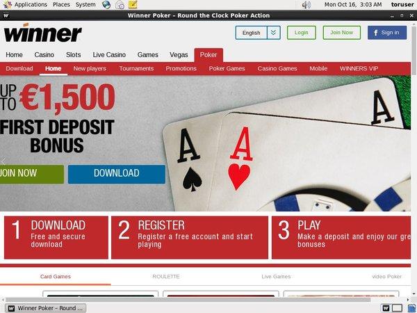 Winner Poker Flexepin