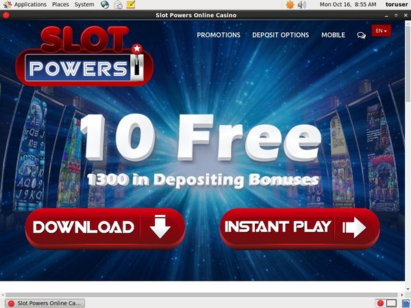 Slot Powers Mobile Free Spins