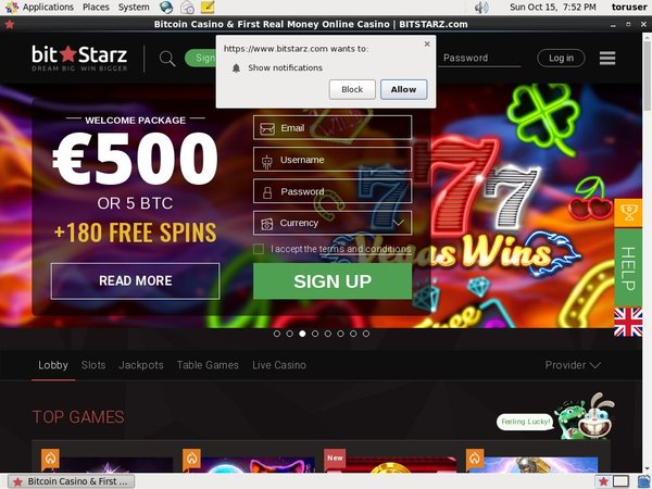Bit Starz Video Poker