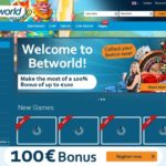 Welcome Betworld Bonus