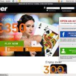 Winner Live Casino Anzahlung