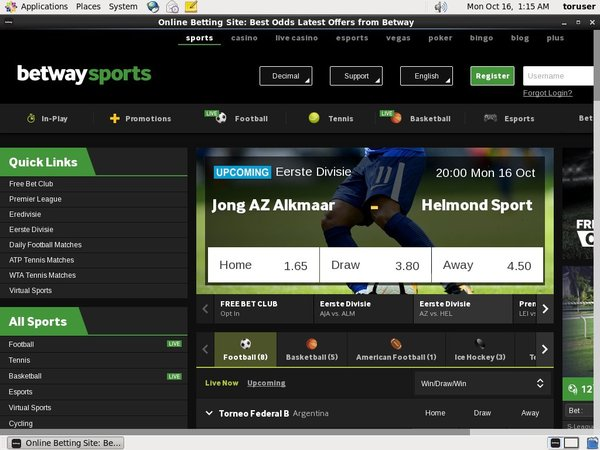 Offers Betway