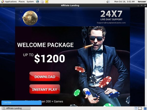 Royal Planet Casino Bonus