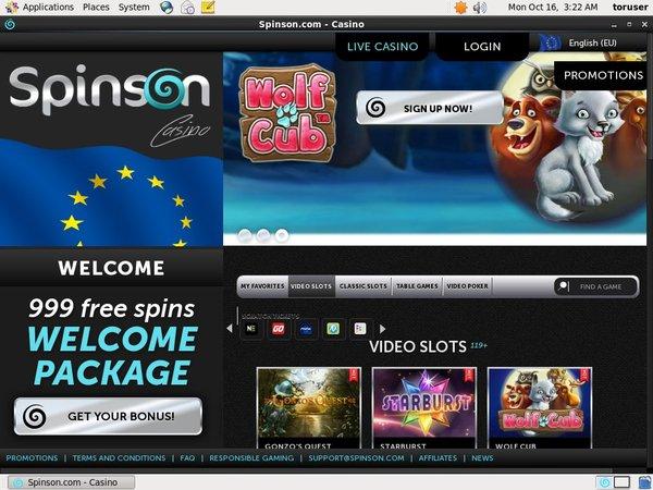 Spinson App