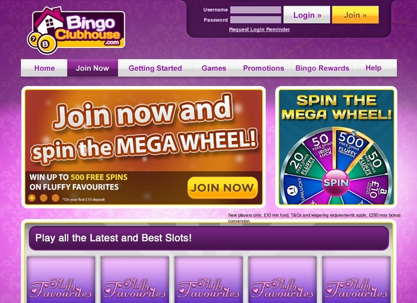 Bingo Clubhouse High Roller Bonus