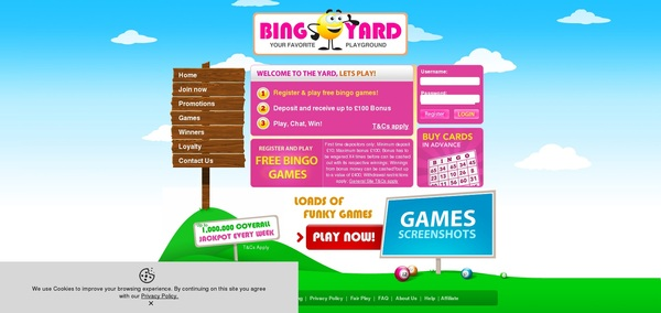 Bingoyard Poker Rewards