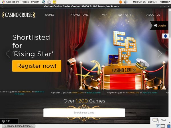Casinocruise Online Slots