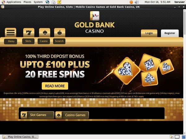 GoldBank Casino Türkçe