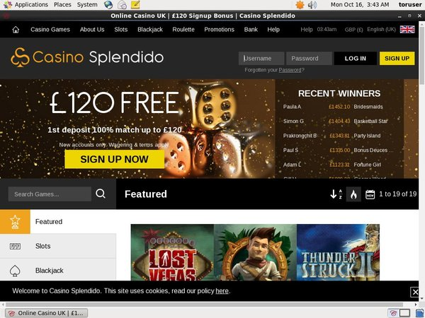Casino Splendido Sports Betting