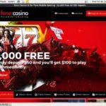 Fone Casino Deposit Options