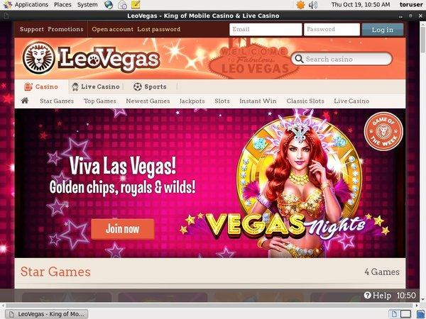 Leo Vegas Join Promo
