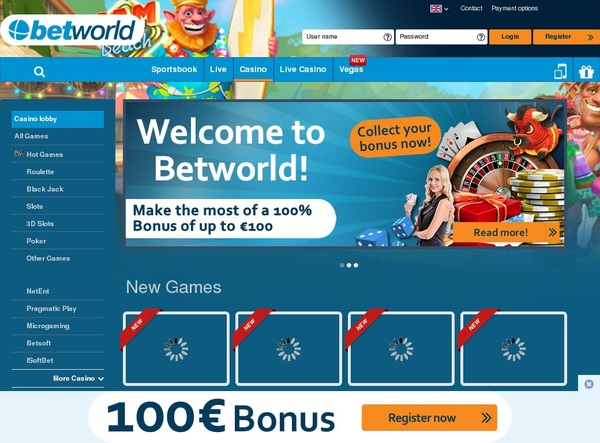 Betworld Direct Deposit