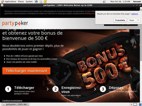 Party Poker Gambling Offers