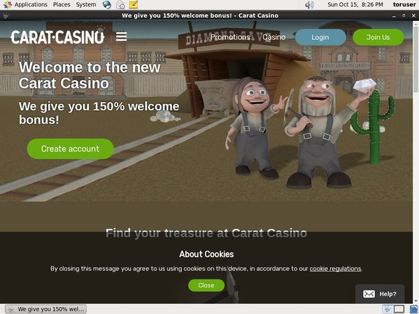 Carat Casino Deposit Phone Bill