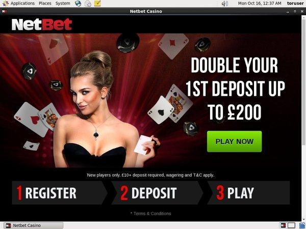 Setup Net Bet Poker Account